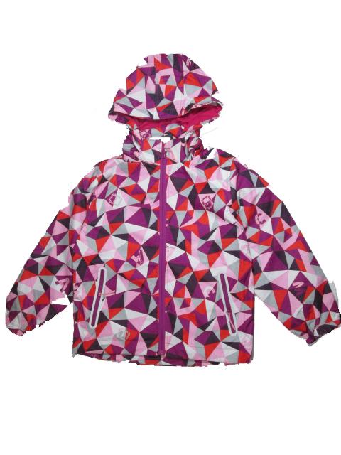 134-164-Dívčí letní/jarní bunda KUGO - růžovo-fialová barva