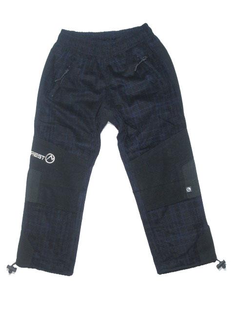 104-Dětské kalhoty Neverest - černo-modré