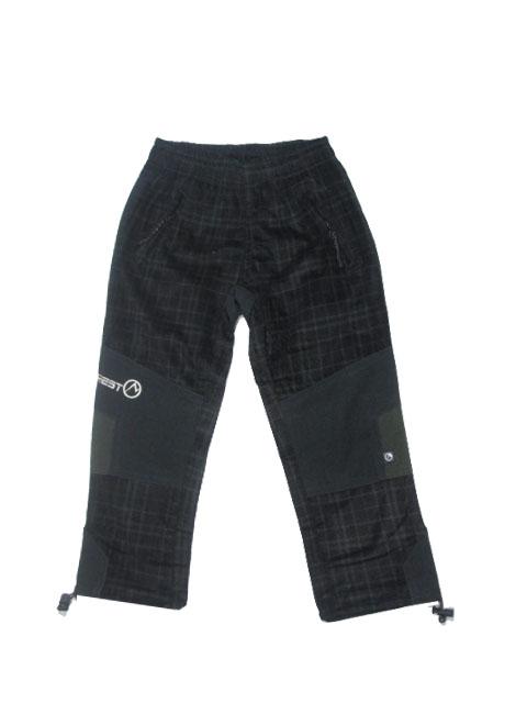 98-116-Dětské kalhoty Neverest - černo-khaki