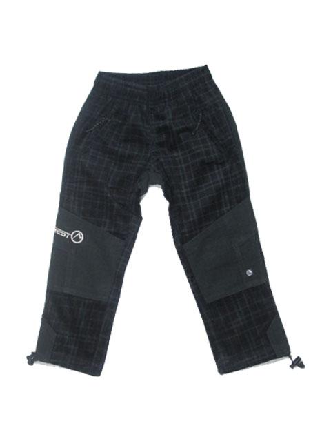 110-Dětské kalhoty Neverest - černo-šedé
