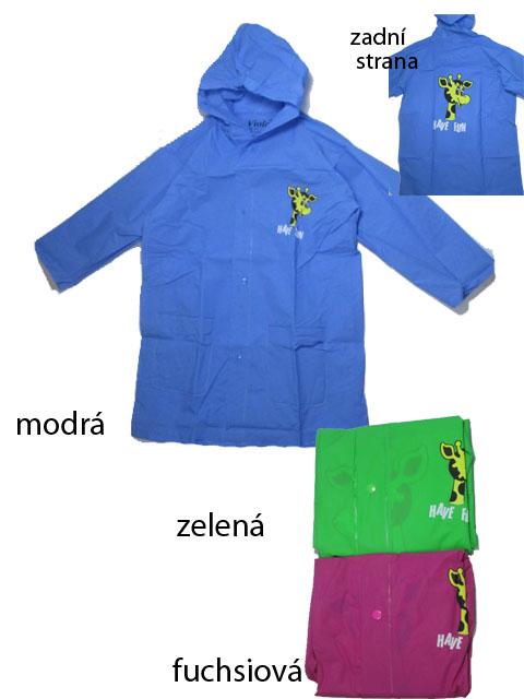 110,-Dětská pláštěnka VIOLA 5502