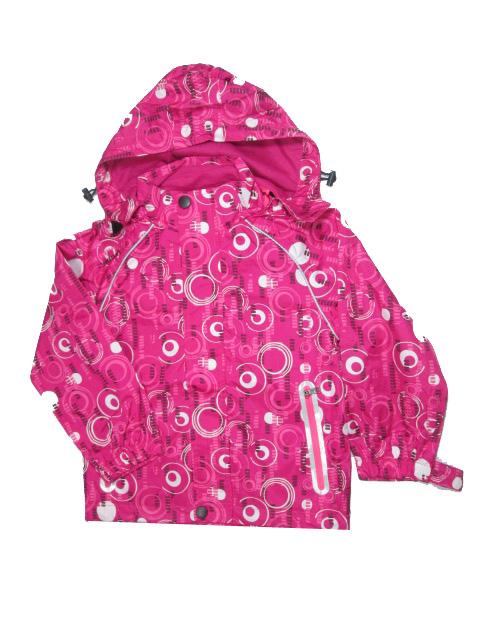 104-128-Dětská letní/jarní bunda KUGO - růžová barva