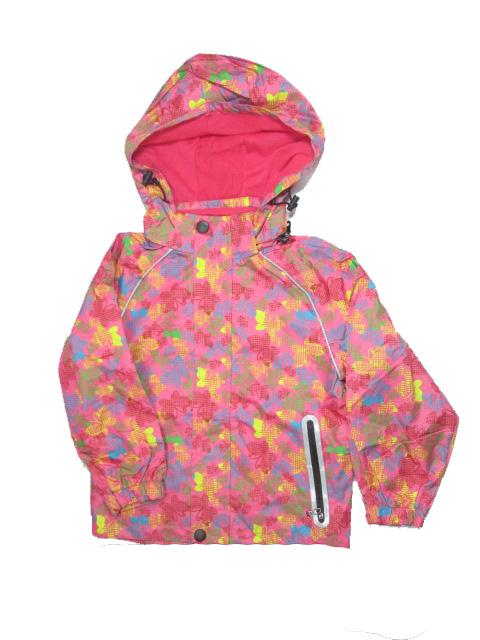 98-128-Dětská letní/jarní bunda KUGO - lososová barva