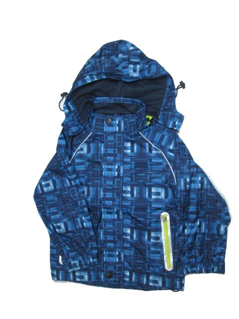 98-122-Dětská letní/jarní bunda KUGO - modrá kostka
