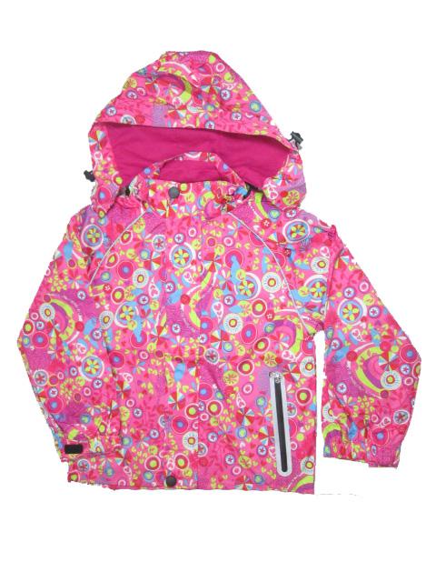 98-128-Dětská letní/jarní bunda KUGO - růžová barva
