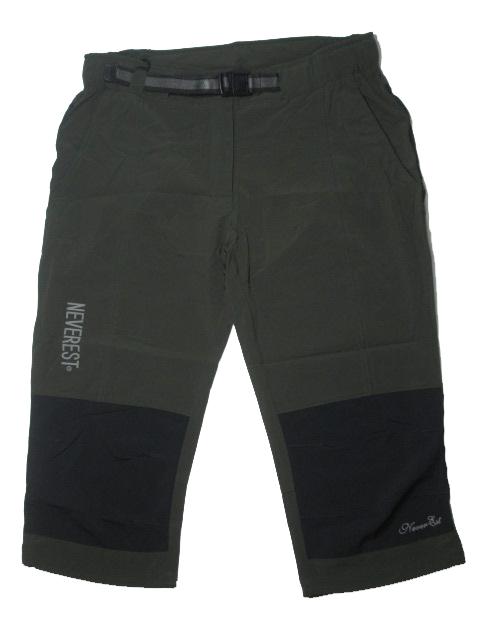 2.jakost -L-Dospělé 3/4 kalhoty Neverest - barva khaki