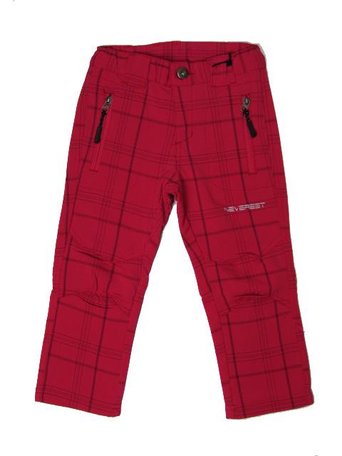 140-164-Outdoorové kalhoty Neverest - barva malinová