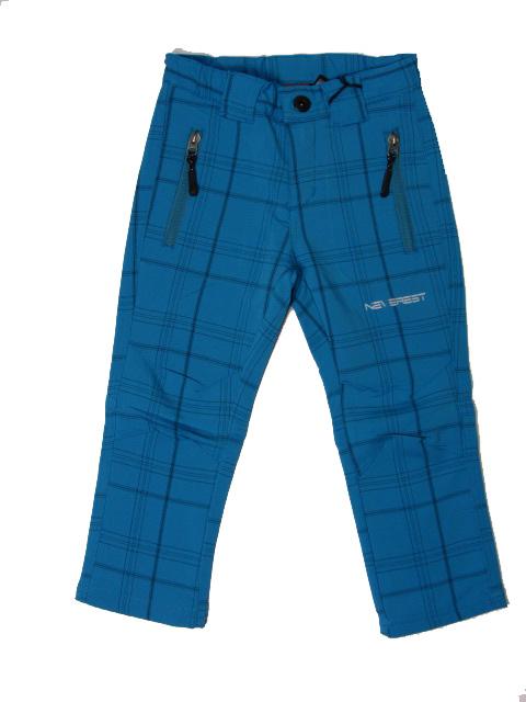 116-158-Outdoorové kalhoty Neverest - barva tyrkysová