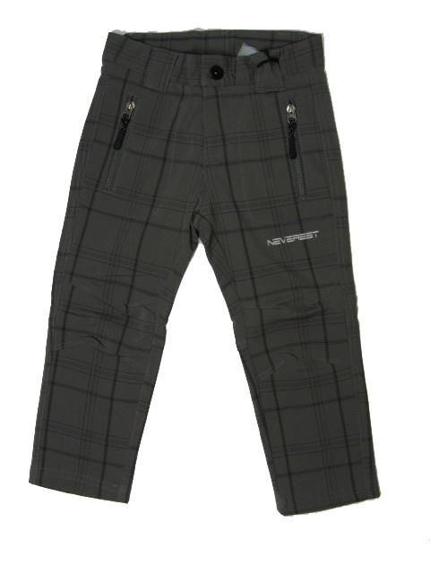 134-152-Outdoorové kalhoty Neverest - barva šedá