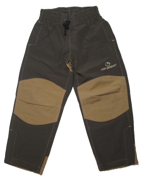 128,140-Outdoorové letní kalhoty Neverest - barva hnědo-béžová