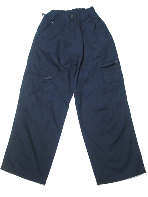 vel. 152,164-Letní plátěné kalhoty Neverest - tm.modrá barva