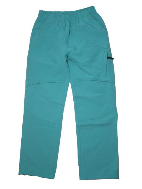 146-Dívčí šusťákové kalhoty (slabší) NEverest - nachová barva