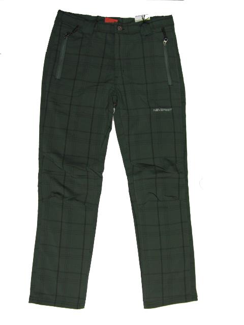 XL,-Dámské, pánské outdoorové kalhoty Neverest (bez podšívky) - khaki barva