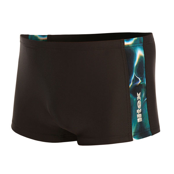 vel.158-Chlapecké plavky boxerky - černá barva