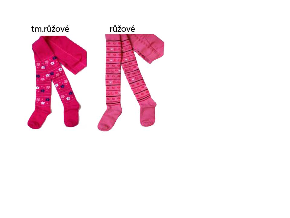 vel.104-110,116-122,128-134-Dívčí froté punčocháče Mim