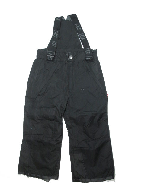 vel.98-110-Lyžařské zateplené kalhoty - YDI - černá barva