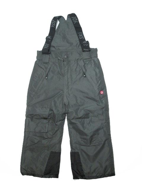 vel.104-110-Lyžařské zateplené kalhoty - YDI - šedá barva