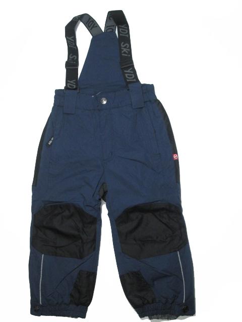 vel.110-122-Lyžařské zateplené kalhoty - YDI - tm.modrá