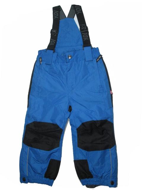 vel.104-110-Lyžařské zateplené kalhoty - YDI - modrá