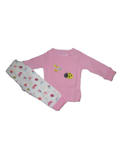 vel.86,92-Dívčí pyžamo WOLF - barva sv.růžová