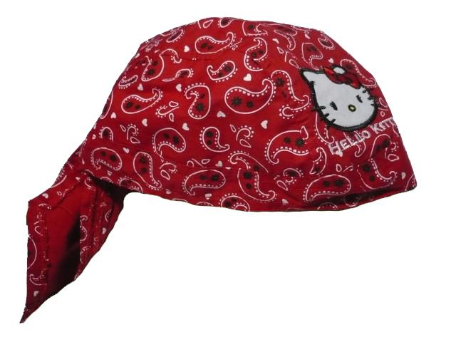 UNI-Dívčí pirátka Hello Kitty - červená barva