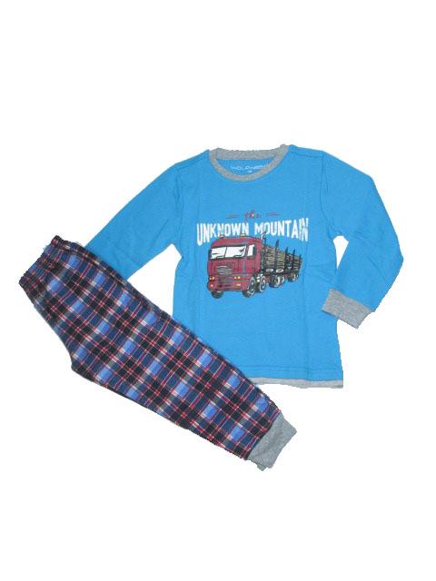 110-Chlapecké pyžamo WOLF - modrá barva