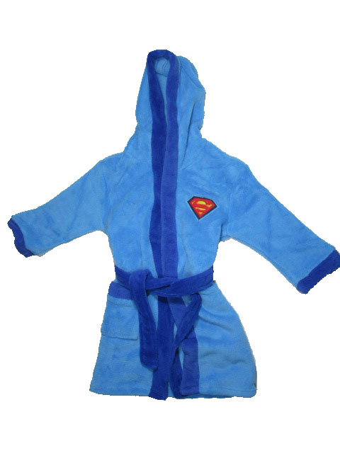 98-110-Chlapecký župan Spiderman - modrá barva
