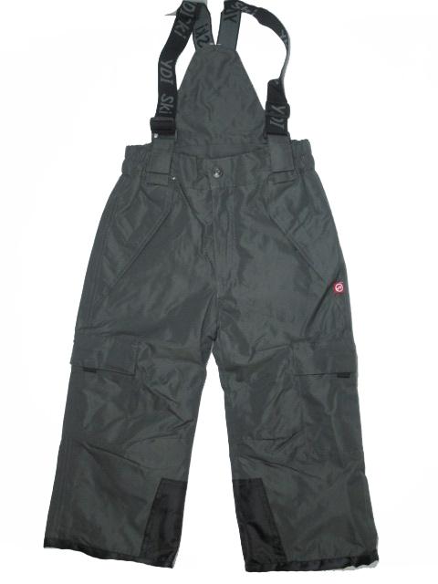 vel.98-128-Lyžařské zateplené kalhoty - YDI - šedá barva