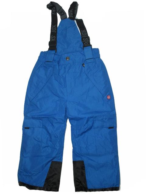vel.98-128-Lyžařské zateplené kalhoty - YDI - modrá barva