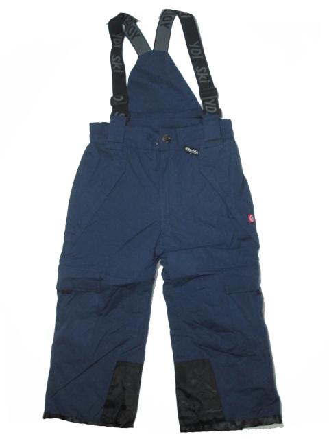 vel.98-128-Lyžařské zateplené kalhoty - YDI - tm.modrá