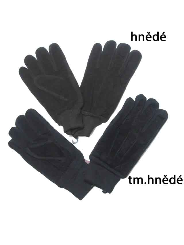 Pánské kožené rukavice Echt