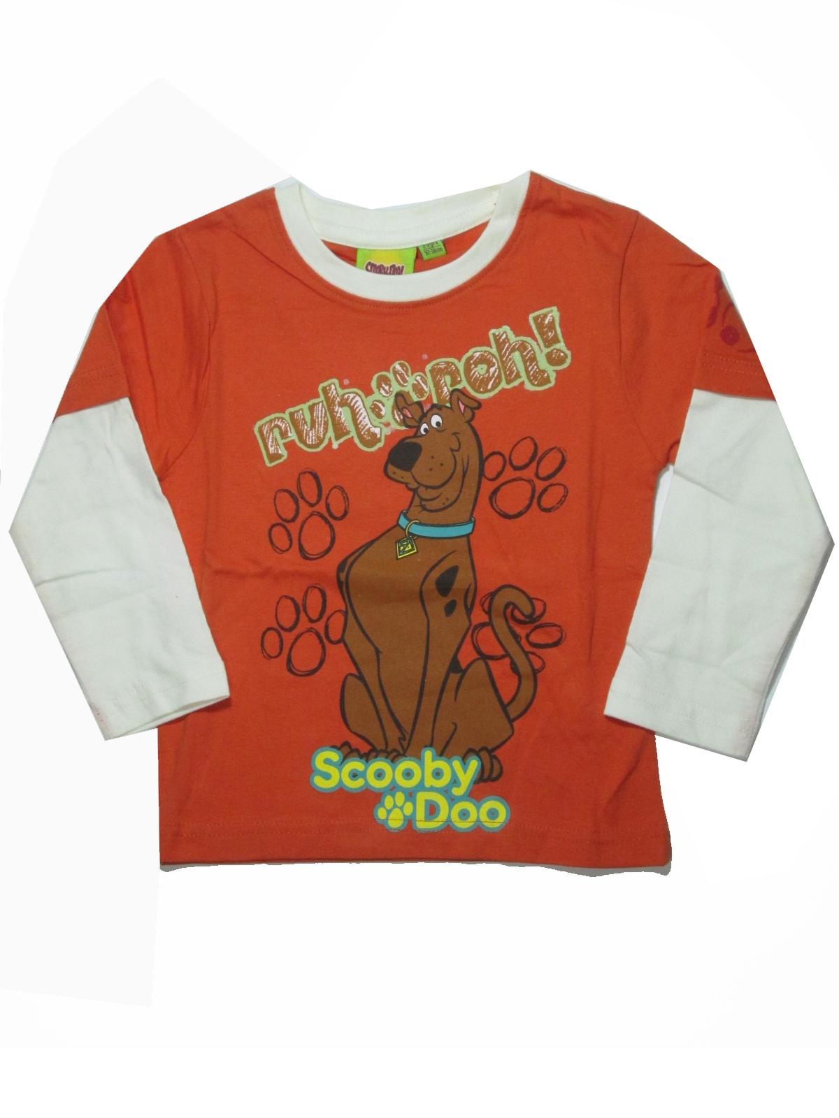 92-98- Dětské tričko Scooby Doo